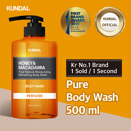 [KUNDAL] Pure Body Wash 500ml ✨Kr No.1 Brand✨⭐1 sold in EVERY 1 Second⭐