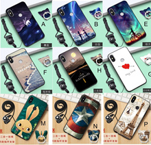 Redmi S2 Xiaomi 6/5X/Mix2 Xiaomi 8 Mi8 Mi8se casing back cover cartoon free iring