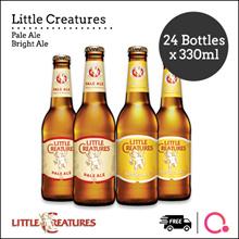 [Pacific Beverages] Little Creatures® Pale Ale / Bright Ale [24 Bottles x 330ml] ! Carton Deal !