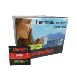 킴보 파드 커피 44mm 에스프레소(나폴리) 대용량 100팩