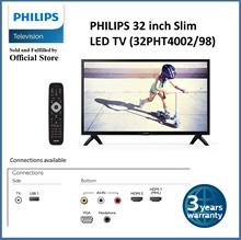 PHILIPS Slim 32 inch LED HD ready TV | 3 years warranty | Local Set | 32PHT4002/98