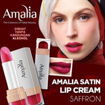 Amalia Satin Lipstick Saffron Lips All Varian