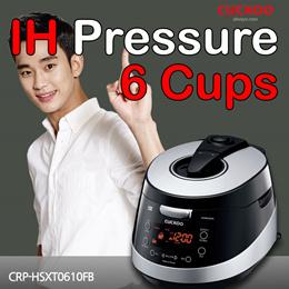 ◆Sale Event◆[CUCKOO Korea]◆IH Pressure◆ Rice Cooker 6 cups
