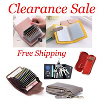 ☆ 17/4 New Arrival ☆ $10.90 Key Card Coin Holder / Car Key Pouch / Card Wallet
