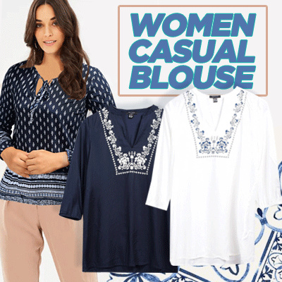 New Collection Branded Women Blouse Deals for only Rp60.000 instead of Rp60.000