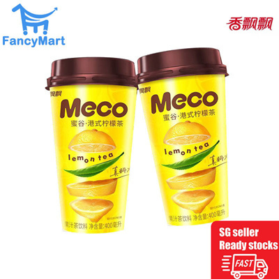 Xiang Piao Piao Meco HK Style Lemon Tea 400ml  x 6