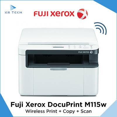 Fuji Xerox *Lowest Price* Fuji Xerox M115w Print + Copy + Scan with  Wireless w Warranty