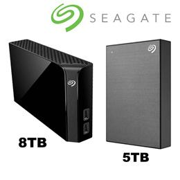 ★쿠폰가$105★미국 씨게이트 백업플러스 Seagate Backup Plus Hub 8TB Desktop Hard Drive /5TB Portable Hard Drive