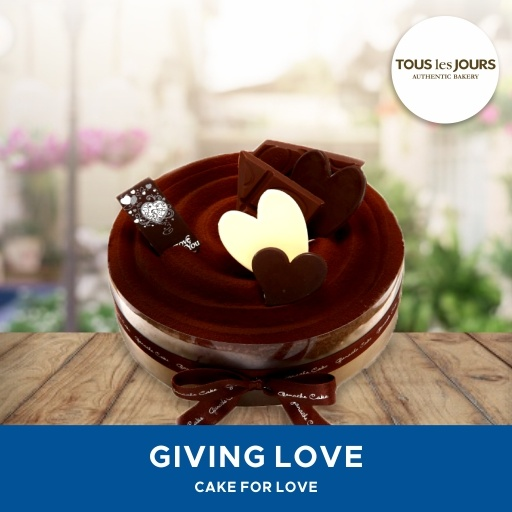 [FREE DOLL] Tous Les Jours/ Cake Giving Love /Mobile-Voucher Deals for only Rp165.000 instead of Rp165.000