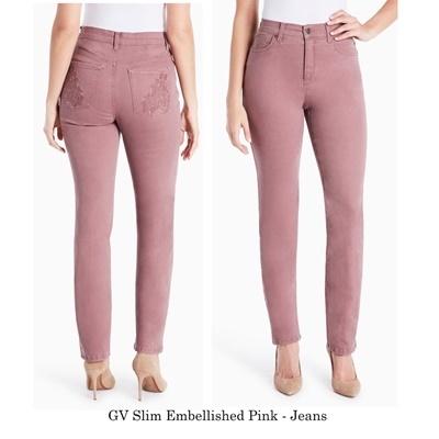 GV Slim Embellished Pink