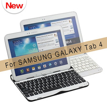 Durable Bluetooth Keyboard Case For Samsung Galaxy Tab 4 10.1 T530 and T531