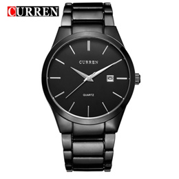 CURREN 8106 Men Sport Watch Casual Fashion Stainless Steel Quartz Watches