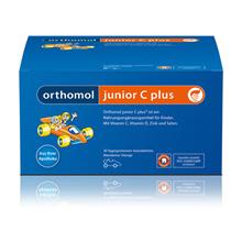 ORTHOMOL Junior C plus Kautabl.Waldfrucht