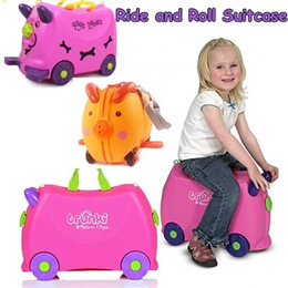 Ride and Roll Suitcase/storage box/travel Bag/Childrens Day gift/Christmas gifts/XMAX