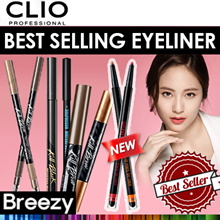 BREEZY ★ [CLIO] NEW Gelpresso Waterproof Gel Liner / Best Selling EyeLiner of Clio / eyeliner /
