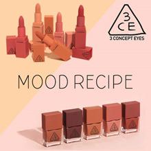 3CE: MOOD/RED RECIPE MATTE LIP/NAIL LACQUER dress
