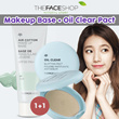 [THE FACE SHOP] [1+1] Air Cotton Makeup Base SPF30 PA++   +  Oil Clear Smooth Bright Pact SPF30 PA++