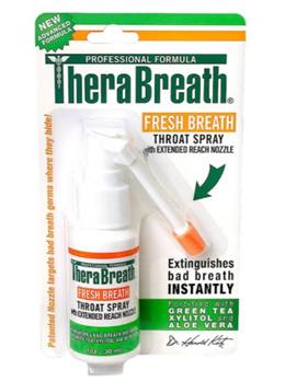 TheraBreath Fresh Breath Throat Spray 1 fl oz (30 ml)