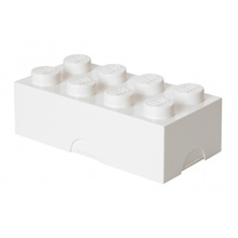 LEGO 8 - Stud Storage Brick - WHITE (LS-40041735)