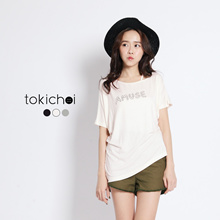 TOKICHOI - T-Shirt with Amuse Print-6023030