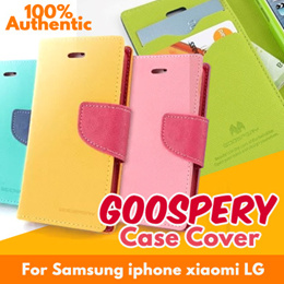 [JD Mall]👇👇 QG023👇👇★100% Authentic Genuine★ Samsung Galaxy S6 S7 Edge iPhone 6 6S 5 5S PLUS Note 2 3 4 5 Goospery Case Cove S6 A8 S5 TAB S2 TAB A 4 3 Mi4 Redmi Note 3 LG G 2 3 4
