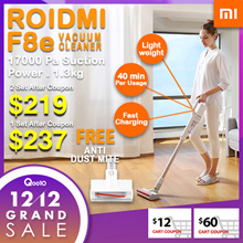 RDY STOCKS LOCAL SELLER❤FREE ANTI DUST MITE ❤Xiaomi Roidmi F8e cordless vacuum cleaner