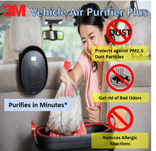 【Official Distributor】3M™ Vehicle Air Purifier Plus