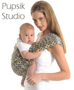 [PUPSIK STUDIO] Baby Pouch Sling (to carry your newborn up to toddler)