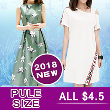 Clearance sale 4.5!!! Limited-time preferential !2018 NEW FASHION PLUS SIZE DRESS