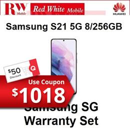 Samsung S21 5G 8/256GB-Samsung SG Warranty Set