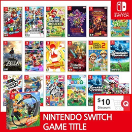 [Ready Stock!!] ★Nintendo Switch Game Title  BEST GAMES Collection★