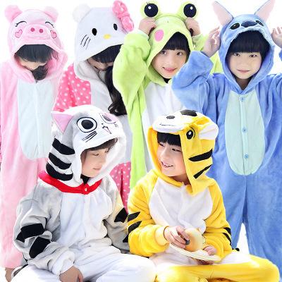 be84942a1 Children Animal Pajamas/ Anime Cartoon Costumes /Sleepwear /Kids Cosplay/  Onesie Frog Pyjamas