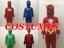 Superhero costumes for kids superhero capes anime cosplay carnival Superman Spiderman