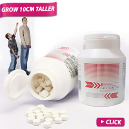【★ Grow +5 cm ★】Japan Height Growth Supplement ☆ CALCIUM 180 ☆GET TALL SMART HANDSOME LIFE!