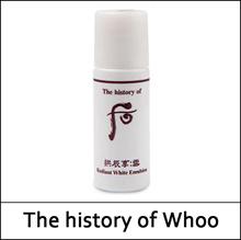 [The History Of Whoo] Gongjinhyang Seol Radiant White Emulsion Sample 5ml*10ea(Total 50ml)