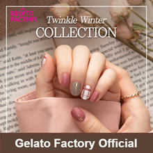 [GELATOFACTORY🍦 OFFICIAL]★New Arrival★One Step Gel Nail Polish Strip can be done in 10min