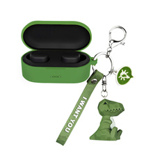 QCY T5 Bluetooth headset protective sleeve T5 headset sleeve creative cute cartoon charging box shell lanyard silicone soft shell