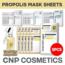 NEW ADDED★CNP PROPOLIS ENERGY AMPULE MASK 5EA★ANTI-AGING+WHITENING+MOISTURIZING+SOOTHING+DAMAGE CARE
