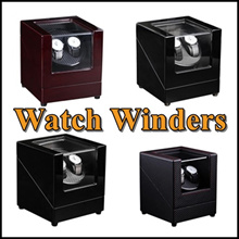 [MEGA SALE] ★Piano Wood Watch Winder 2+0/4+6 /2+3 Elegant/Piano Wood Luxurious Watch Winder