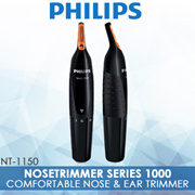 Philips NT1150 / Comfortable Nose and Ear Trimmer / Black
