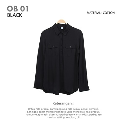 OB 01 BLACK
