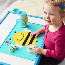 Skiphop/ skip hop placemat tatakan piring alas makan blw anak bayi