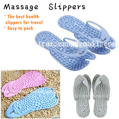 ★Massage Slippers/ Bathroom Foldable  Slimming Slipper★/ Shoes /Sandals /Portable/Massager