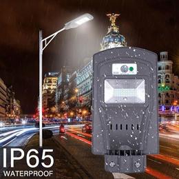 Solar Led Sensor Light Led Street Light With Motion Sensor Waterproof 20W 40W 60 W Led Solar light L
