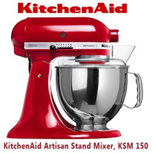 [KITCHENAID] KitchenAid Artisan Stand Mixer with FREE CEREMIC KNIFE SET * KSM 150 * 1 Year Local Warranty * Local Original Set!!!