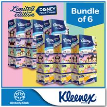 [BUNDLE of 6] Kleenex 3Ply Facial Tissues Limited Edition Disney Tsum Tsum Restocked