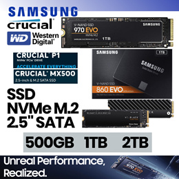Samsung 860 970 EVO | T5 250GB 500GB 1TB 2TB SSD | Crucial WD Sandisk Also Available! - FROM $80!