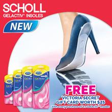 [RB] VICTORIA SECRET VOUCHER! Scholl GelActiv Insoles For Female (Open/Flats/Everyday Heel/High Heel