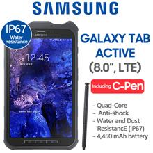 [LTE Set] Samsung Tab Active SM-T365 16GB LTE IP67 Water Resistance / (8 inch LTE)