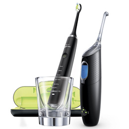 Philips HX8491 Sonicare AirFloss Ultra Interdental Cleaner and DiamondClean Sonic Toothbrush